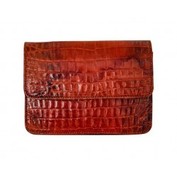 B Grade Mbour Croco Orange Polished
