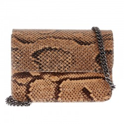 Mbour KENZINA Python Clutch Natural Polished