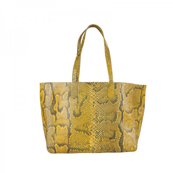 Shopper Python Yellow Matt