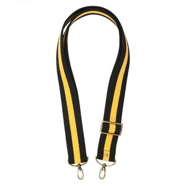 Strap - Black/Yellow/Black