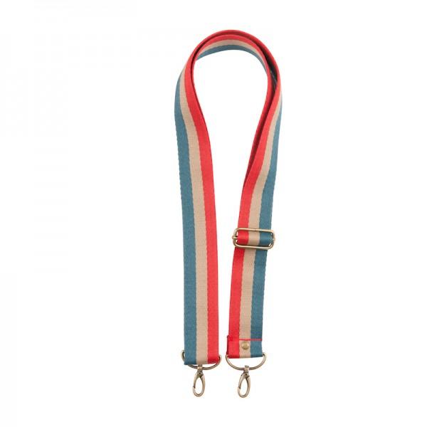 Strap - Blue/Beige/Red