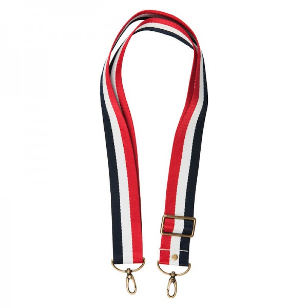 Strap - DarkNavy/White/Red