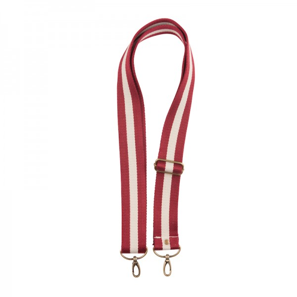 Strap - Bordeaux/white/bordeaux
